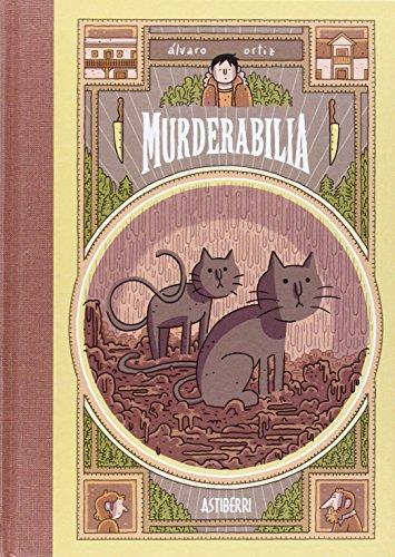 Portada del libro Murderabilia (Sillón Orejero)