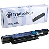 Trade-Shop Premium Laptop Akku 8800mAh 10,8V/11,1V für Acer Aspire V3-571-6643 V3-771G-9665V3-771G-9875 V3-571G-6602 V3-571G-6641 V3-571G-9435 V3-731-4695 V3-771-6683 V3-771G V3-771G-6601 V3-771G-6650 V3-571-6800