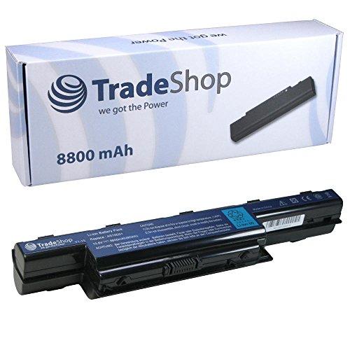 Trade-Shop Akku 8800mAh 10,8V/11,1V für Acer Aspire V3-571-6643 V3-771G-9665V3-771G-9875 V3-571G-6602 V3-571G-6641 V3-571G-9435 V3-731-4695 V3-771-6683 V3-771G V3-771G-6601 V3-771G-6650 V3-571-6800