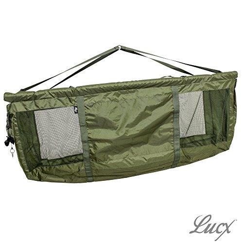 Lucx® XXL Floating Karpfen Wiegeschlinge/Carp Weightsling Sling/Wiegesack, 130 cm x 65 cm