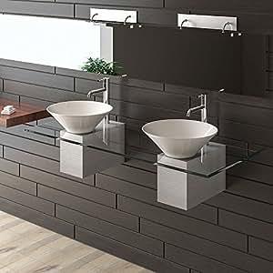 keramik waschbecken designer waschtisch m bel aus glas alpenberger serie 200 keramik. Black Bedroom Furniture Sets. Home Design Ideas