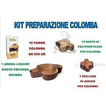 Set preparación Paloma Artesanal Pascua – Kit N ° 43 CDC (1 aroma Paloma Decora