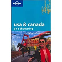 Lonely Planet USA & Canada on a Shoestring by Robert Reid (2005-04-02)