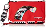 Desigual Girls' BOLS_TAMARILLO Backpack, Red (3092), 6x18x26 cm (B x H x T)