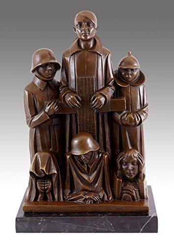 Bronzeskulptur - Ehrendenkmal (1928/29) - Ernst Barlach signiert - Limitierte Edition - Kunst kaufen - Barlach Skulpturen kaufen