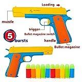 ferbixo nueva pistola de juguete-Marca nueva realista 1: 1escala Colt 1911de goma bala pistola