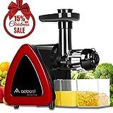 Extracteur de Jus, Aobosi Sans BPA Extracteur à Jus avec Fonction Reverse,Moteur Silencieux Pour Nutritif Jus de Fruits et Légumes