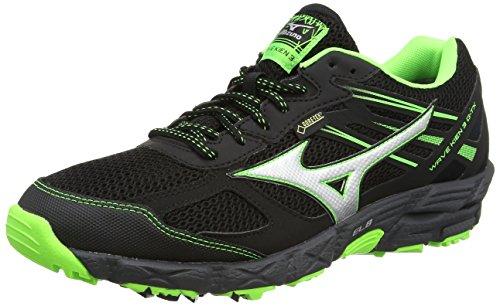 mizunowave-kien-3-g-tx-scarpe-running-uomo-black-black-silver-green-gecko-45