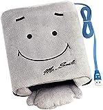 OFKPO USB Riscaldamento Mano Calda Winter Mouse Pad (Marrone)