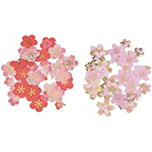 Rishil World DIY Scrapbooking Paper Cherry Blossoms Diary Stickers Wedding Album Plum Flower Decoration