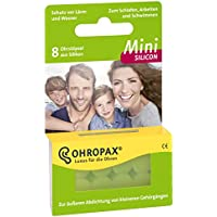 Ohropax Mini Silicon, 5er Pack (5 x 8 Stück) preisvergleich bei billige-tabletten.eu
