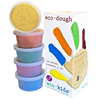 Eco Kids Natural Plant Dye Modeling Dough(Contains