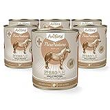 AniForte PureNature Hundefutter Pferd Pur 6 x 800g - Naturprodukt für Hunde