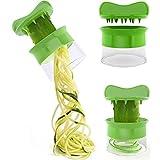 BakeLIN Spiralschneider Spiralgemüse Obst Slicer Cutter Reibe Twister Peeler Küchenhelfer -