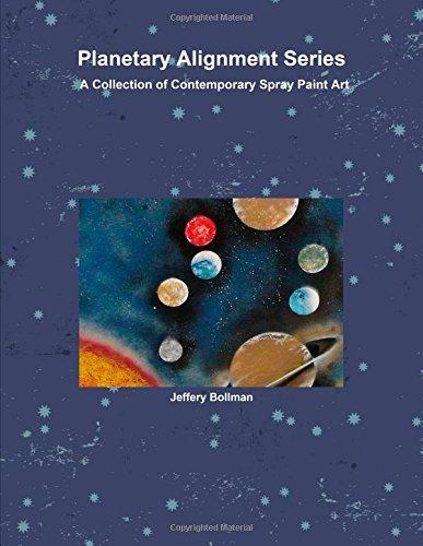 Planetary Alignment Series Contemporary Spray Paint Art