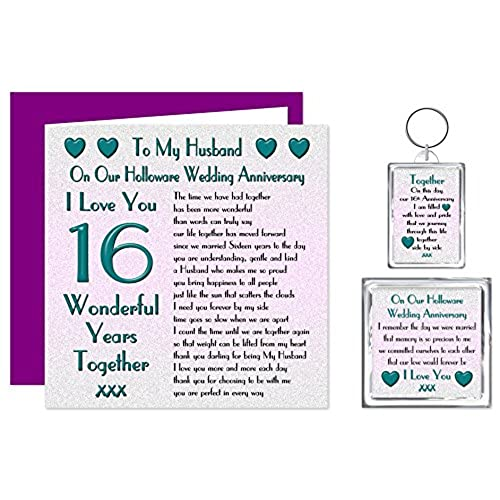 16th wedding anniversary uk top