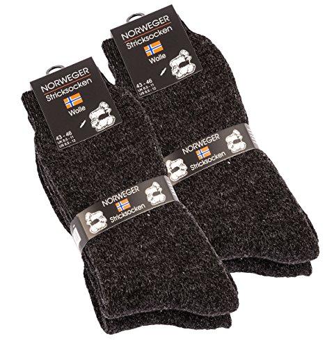 4-pares-calcetines-a-camiseta-noruegos-lana-grigio-nero-flecked-39-42