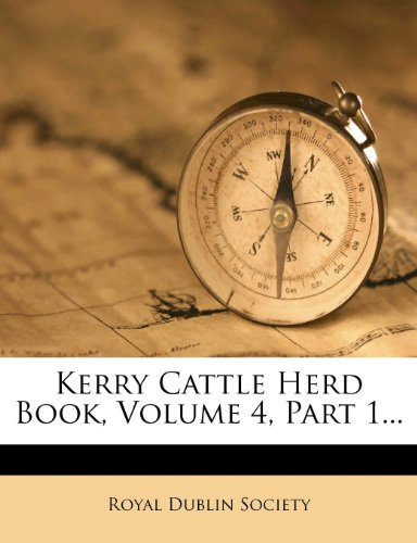 Kerry Cattle Herd Book, Volume 4, Part 1.
