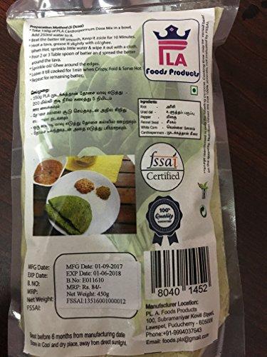 PLA FOODS PRODUCTS Mudakathan Dosa Mix (450 g)