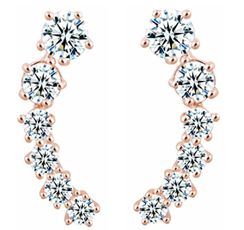 saysure-stars-elements-silver-color-gold-color-crystal-earrings
