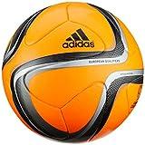 adidas Offizieller Spielball Euro Qualifier, Infrared/Black/Neo Iron Met. F11/Metallic Silver, 5, M66125
