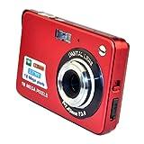 DeeXop HD Mini Digital Camera with 2.7 inch TFT LCD Display (Red)