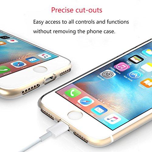 Cover iPhone SE/5/5s [Pellicola Protettiva in Vetro Temperato], Bestsky Cute Cartone Animato Colorato Fiore Pattern Trasparente Gel Silicone Bumper Case Custodia Per iPhone SE/5/5s, Banana #13