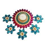 Designer Handmade Beautiful Diyas With F...