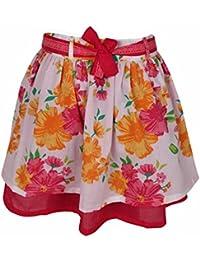 Shoppertree Girls Floral Printed Skirt