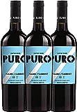 3er Paket - Puro Malbec Cabernet 2017 - Dieter Meier | trockener Rotwein | argentinischer Biowein aus Mendoza | 3 x 0,75 Liter