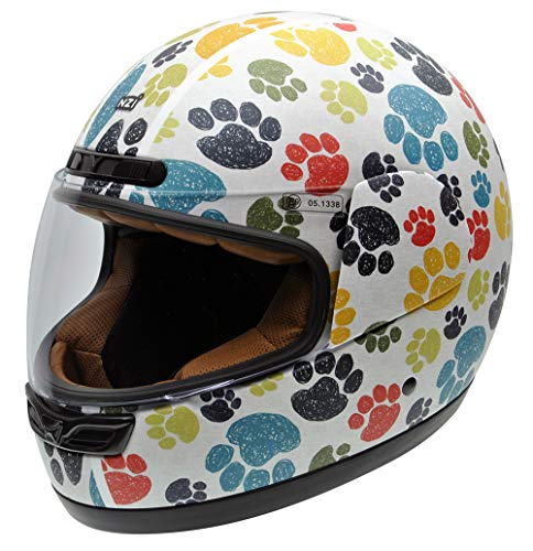 NZI 050323G707 Activy Junior Pawprints Casco De Moto