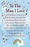 "Heartwarmers To The Man I Love Keepsake Card & Envelope 3.5"" x 2"" Code K137E"