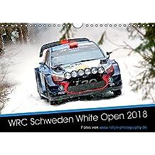 WRC Schweden White Open 2018 (Wandkalender 2018 DIN A4 quer): Impressionen der WRC Winterrallye in Schweden (Monatskalender, 14 Seiten ) (CALVENDO Sport)