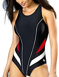Gwinner maillot de bain le sport maillot de bain maillot de bain maillots de bain femme une pièce très confortable et élastique, avec douceur, bonnets amovibles, la qualité made in UE Liana