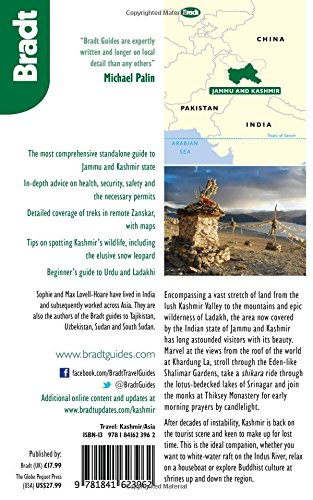 Kashmir: Jammu, Kashmir Valley, Ladakh, Zanskar (Bradt Travel Guides (Regional Guides))