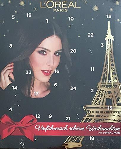 Loreal Paris Adventskalender 2018 Make Up Beauty Kosmetik Weihnachtskalender
