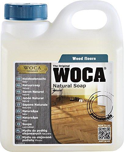 5 Liter WOCA Holzbodenseife NATUR + 1 Baumwollüberzug für 40cm Wisch-Mopp Marke: Baumarkt-konkret
