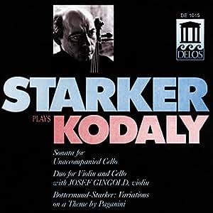 Kodaly - Sonate pour violoncelle seul / Duo pour violon et violoncelle [Import allemand]