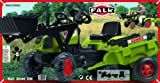 Falk Traktor für Kinder - Bagger - Claas Arion 410 + Anhänger, 2040CM für Falk Traktor für Kinder - Bagger - Claas Arion 410 + Anhänger, 2040CM