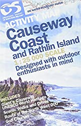 Causeway Coast 1:25 000: and Rathlin Island (Activity Map)