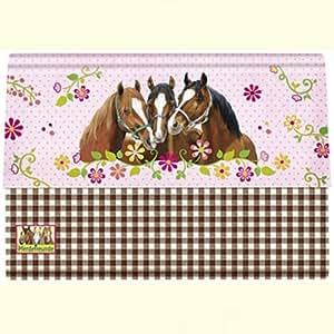 Spiegelburg 21183 Set de correspondance Motif chevaux
