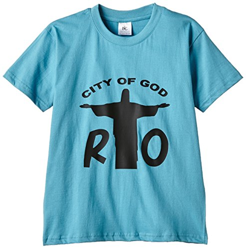 Touchlines Kinder T-Shirt Rio - City of God, Swimming Pool, 134/146, KID166