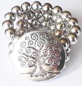 Bracelet fantaisie LOL - Baobab argent