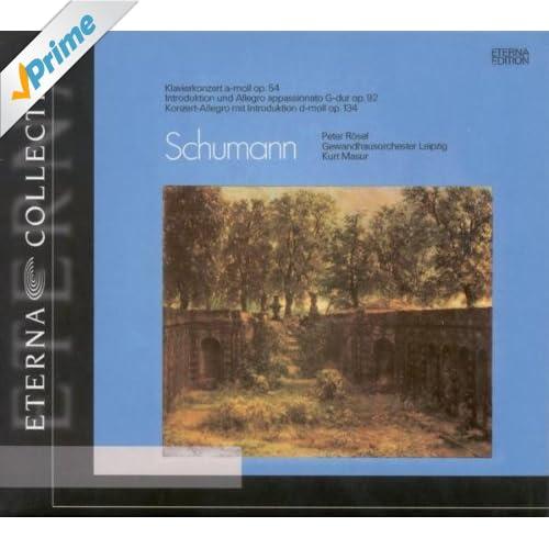 Piano Concerto in A Minor, Op. 54: II. Intermezzo. Andantino Grazioso