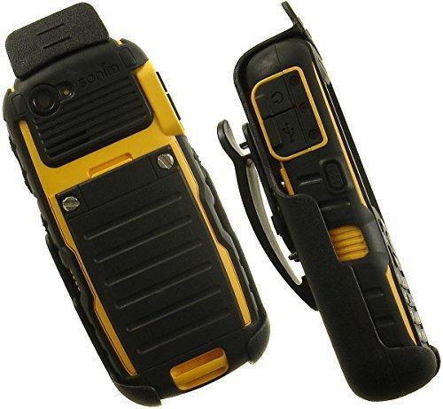 Sonim Bolt/Strike Clip, nakedcellphone 's Black Spring Clip Gürtel Rotierenden Fall für Sprint Sonim XP Strike XP3410, Telus/AT & T Bolt XP5560, Bell Bolt-2XP5560, Bolt-2ist, Bolt SL XP1520xp5520 Sprint-handys