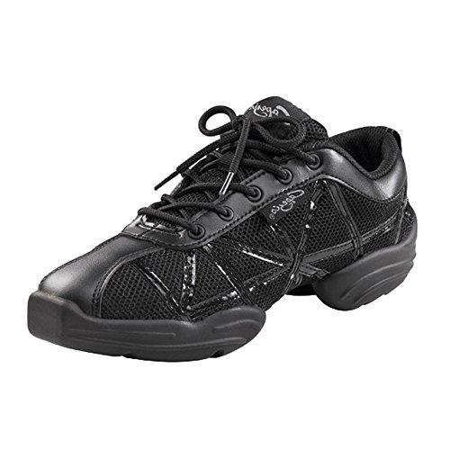 Capezio Web Dance Damen Sneaker Mehrfarbig (Grey/Silver)