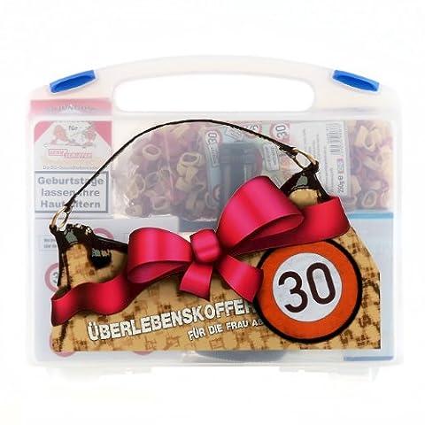 Lustige Apotheke Überlebenskoffer für die Frau ab 30 (8 teilig)