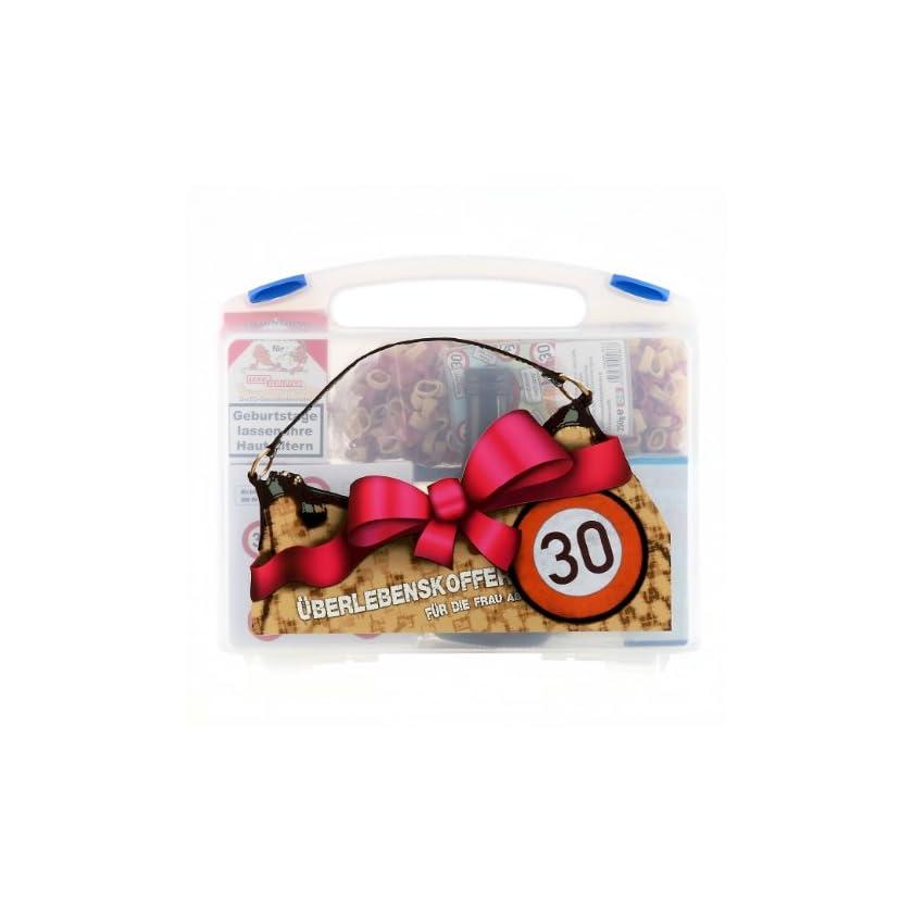Lustapotheke® Überlebenskoffer für die Frau ab 30 (9 teilig) als Geschenkidee 1