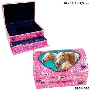 Top Model Horses Dreams joyero Grande (008934), Multicolor (DEPESCHE 1)