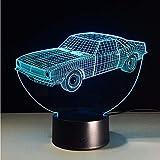 Dwthh 7 Farbe Auto Ändern Nachtlicht Sammeln C 3D Led Tischlampe Cartoon Figur Kinderbett Lampe Nachtlicht